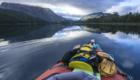 Patagonia fly fishing road trip Lago Hess