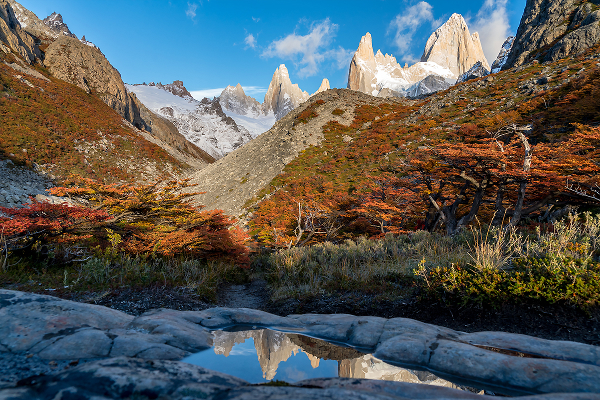 Patagonia DIY fly fishing road trip adventure Monte Fitz Roy