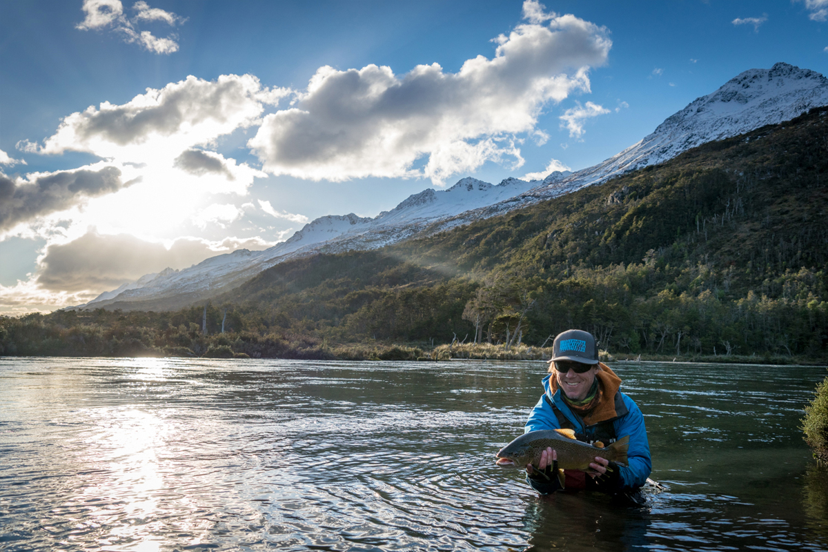 Patagonia DIY fly fishing road trip adventure Tierra del Fuego