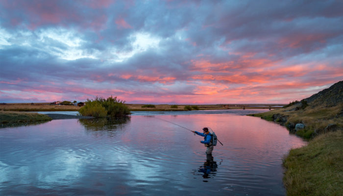 Patagonia DIY fly fishing road trip adventure Rio Gallegos Argentina