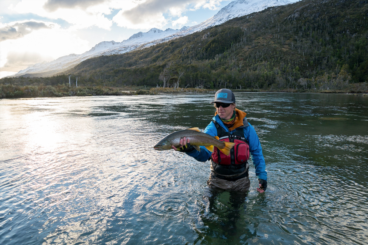 Fly Fishing Tierra del Fuego Chile