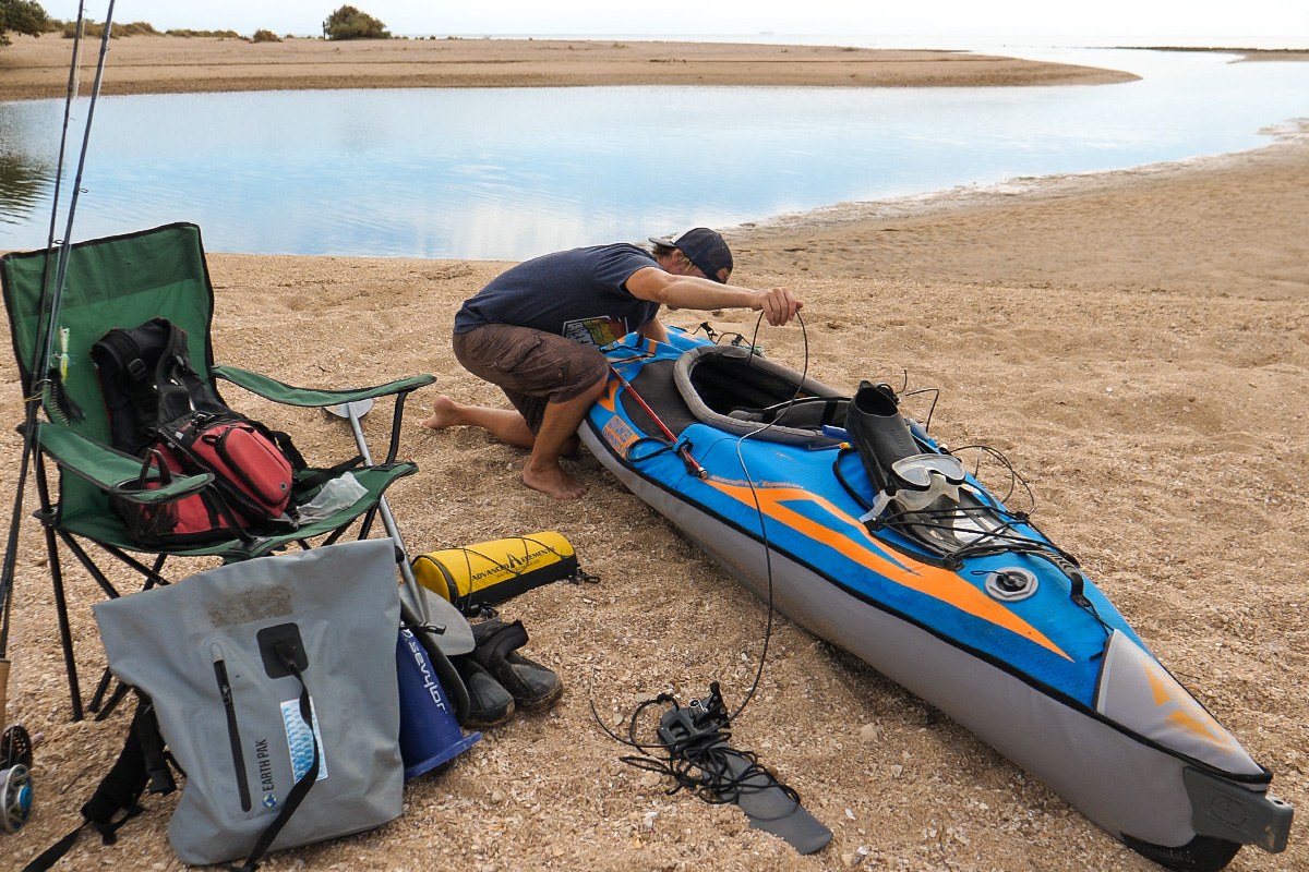 Western Australia Fly Fishing Road Trip Adventure Advanced Elements Inflatable Kayak