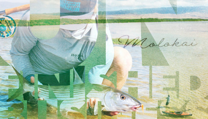 Sight Casting to Molokai Bonefish