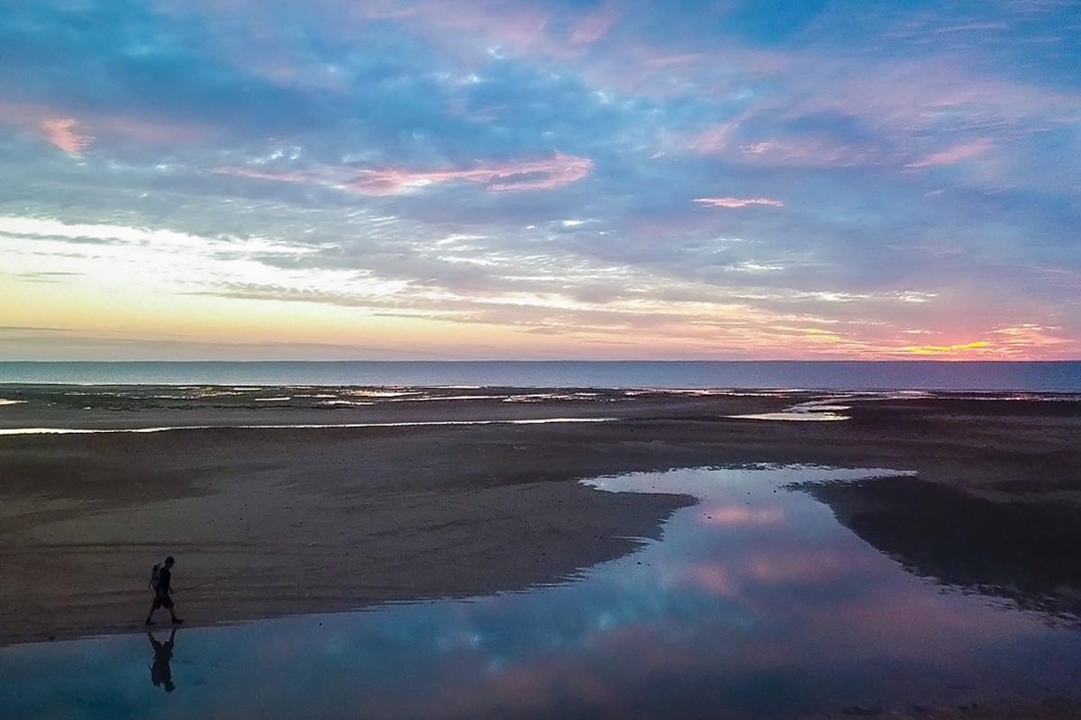 western australia fly fishing road trip exmouth gulf sunrise