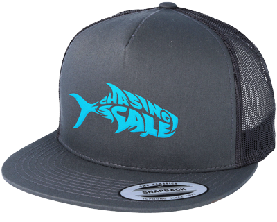 Chasing Scale Fish Hat Merchandise